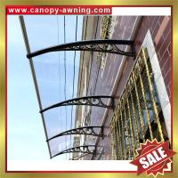 Buy cheap great China outdoor house window door polycarbonate diy pc awning canopy canopies cover shelter kits manufacturers from wholesalers