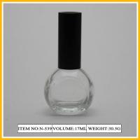 Buy cheap Semi-Circle Nail Polish Containers , 17ml Frosted Bottle For Decorative from wholesalers