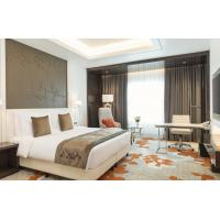 Buy cheap King Size Upscale Modern Hotel Bedroom Furniture Custom Business Executive Suites product