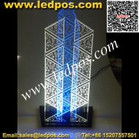 Buy cheap Tabletop LED Edge Lit Sign from wholesalers