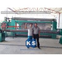 Galvanized Gabion Production Line With Accurate Mesh With PLC Control System