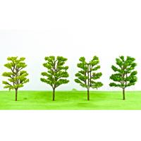 Buy cheap Resin crafts decoration micro - landscape architecture model material simulation tree landscape green plastic tree from wholesalers