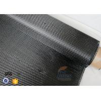Buy cheap 3K 200g 0.3mm Carbon Fiber Fabric For Reinforcement , Heat Resistant Insulation Materials from wholesalers
