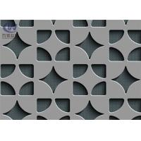 Wholesale Aluminum Exterior Decorative Perforated Metal Screen , Decorative Expanded Metal from china suppliers