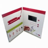 Buy cheap Magnetic switch LCD screen Video Greeting Card for Precious Mothers'day gift from wholesalers