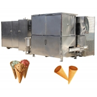 Buy cheap Stainless Steel Ice Cream Rolled Sugar Cone Machine from wholesalers