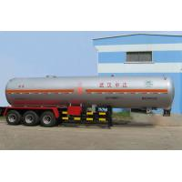 Tri Axle Chemical Transport Semi Trailer Medium 46.6m3 Lightweight Manufactures