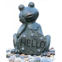 Buy cheap Garden Statue Fountains Vivid Frog Statue Green Frog Magnesia Water Fountain from wholesalers