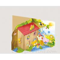 Buy cheap Custom beautiful design and colorful 3D/pop up book for kids product
