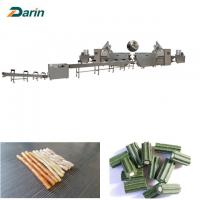 Buy cheap Stainless Steel Pet Food Extruder Dog Treats / Dog Chewing Gum Processing from wholesalers