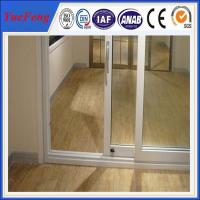 Buy cheap aluminium door frame price,6063 high standard aluminium profile for sliding glass door from wholesalers