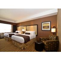Quality 4 Star European Modern Hotel Bedroom Furniture , Hotel Style Furniture for sale