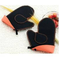 Wholesale Heatproof Kitchen Grips Oven Mitts from china suppliers