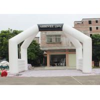 Wholesale White Custom Inflatable Arch Double Stitch Sewing For Event Advertising from china suppliers