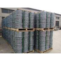 Wholesale Hot-dipped Galvanized Barbed Wire for protecting of grass boundary, railway, highway, prison, etc. from china suppliers