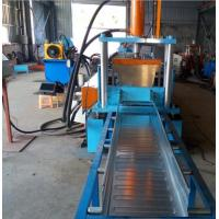 Buy cheap Easy Operation Trench Cable Tray Roll Forming Machine 22KW 200MM Width SGS from wholesalers