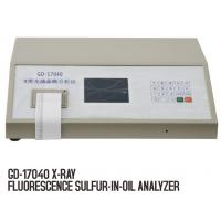 Buy cheap GD-17040 X-Ray Fluorescence Sulfur,Sulfur Analyzer from wholesalers