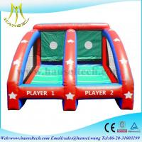 Buy cheap Hansel inflatable sports games basketball,inflatable ball games for kids from wholesalers
