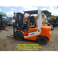 Buy cheap FD30 Japan TCM 2nd Hand Forklift 3 Ton Diesel Engine With Side Shift from wholesalers