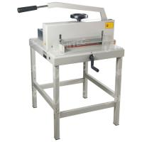Buy cheap Durable 1000W Manual Paper Cutter With Hand Wheel Push System 4708 from wholesalers