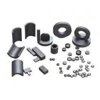 Buy cheap Non-rare earth Bonded ferrite magnet for motors and loudspeakers to toys and craft from wholesalers
