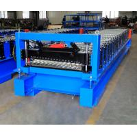 Buy cheap Corrugated Steel Roof Panel Roll Forming Machine For Building Material Making from wholesalers