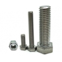 China motorcycle grade 8.8 galvanize din933 stainless steel m6 m16 m20 hex washers bolts and nuts on sale