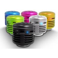 Wholesale Silver Mini Wireless Cell Phone Speakers  from china suppliers