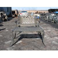 Buy cheap Modern Cast Iron Table And Chairs With Antique Bronze Color Cast Iron Outdoor Dining Set from wholesalers