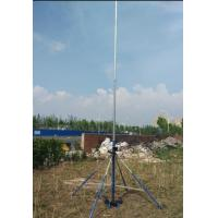 Buy cheap light weight antenna Mast antenna pole telescopic pole antenna tower 6 meter 18 meter hand push up mobile antenna mast from wholesalers