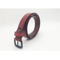 Buy cheap Embossed Pattern 32mm Cowhide Womens Wide Leather Belts from wholesalers