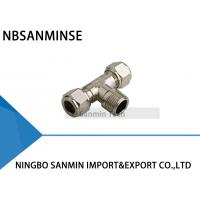 Buy cheap Standard BSPT ( R ) Thread Pneumatic Parts Tube Fittings Air Fitting Sanmin from wholesalers