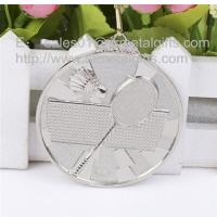 Buy cheap Silver blank badminton medals, a great source for metal blank sport games medals, from wholesalers