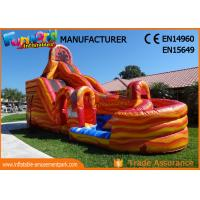 Buy cheap Waterproof Giant Outdoor Inflatable Hurricane Water Slide With Digital Printing product
