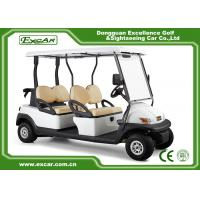 Buy cheap Golf Course 2nd Hand Golf Carts 48V 3.7KW 4 Seater 1 Year Warranty from wholesalers