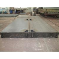 Buy cheap 8mm Checker Plate Electronic Truck Weighbridge Scales with Side Rails Size 3 x 18m 80 tons from wholesalers