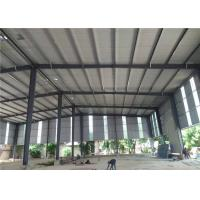 Buy cheap Zinc Coloured Corrugated Sheets Roof Design Philippines Steel Structure Workshop from wholesalers