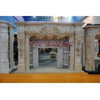 Buy cheap Thala Beige Limestone Fireplaces from wholesalers