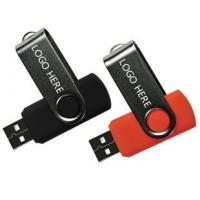 Buy cheap Rolling  Red  / Blue / White Mini  Swivel Usb 32gb  128gb   62 * 16 * 8mm from wholesalers