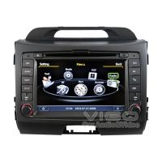 Buy cheap Kia Sat Nav GPS Navigation Autoradio Kia Sportage DVD player from wholesalers