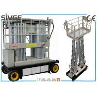 Buy cheap Warehouses Self Propelled Elevating Work Platforms 6m For Two Persons from wholesalers