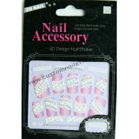 Buy cheap Nontoxic & Eco - friendly ink and glue Removable rhinestone nail stickers for face paint from wholesalers