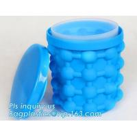 Buy cheap Kitchen Tools Revolutionary Space Saving Beer Wine BPA free Silicone And PP Ice Cube Maker Genie,Party Drink Tub Chillin from wholesalers