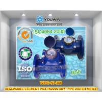 Buy cheap Woltmann Dry Type Removable Element Water Meter (bulk water meter) from wholesalers