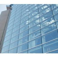 Buy cheap Double Glazed Unitized Glass Curtain Wall with 8mm+12A+8mm coated glass from wholesalers