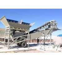 Buy cheap Universal  Mobile Concrete Batching Plant 50 M3/H Small Concrete Batching Machine from wholesalers