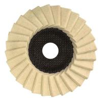 Buy cheap glass grinding wheel finishing Resin Fiber Sanding Discs Flap Disc For Grinding Metal Size 100 X 16 MM from wholesalers