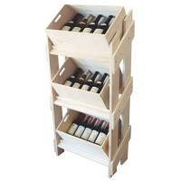 Buy cheap 18 / 25mm MDF Solid wooden Display Stands Fire Proof Paint , Shoe Displays from wholesalers
