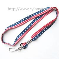 Buy cheap Full color pattern print neck strap lanyards, designer full color medal holder lanyard, from wholesalers