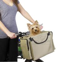 Buy cheap Quality Over the Shoulder Carrier Bicycle Basket for Dog from wholesalers